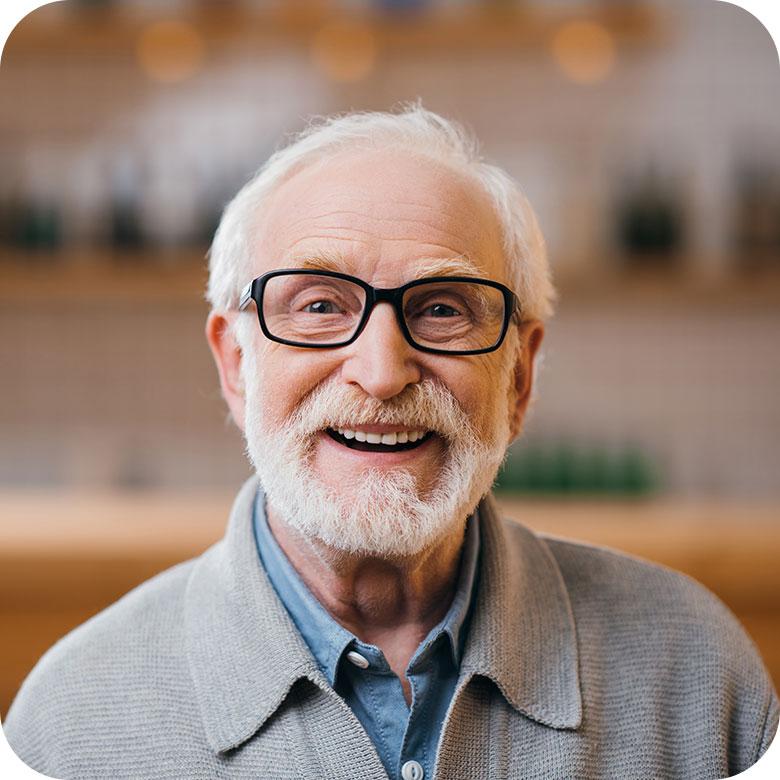 photo d'un senior